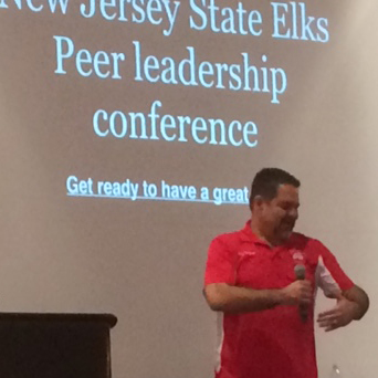 Ray Lozano - New Jersey State Elks Peer Leadership Conference