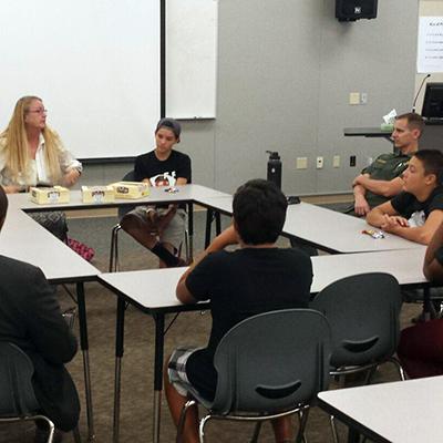 "Riverside County Youth Accountability Team (YAT), ""Nurse's Visit"" - July 28"