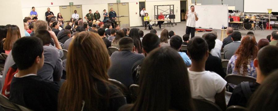 Ray Lozano - Youth Speaker Programs