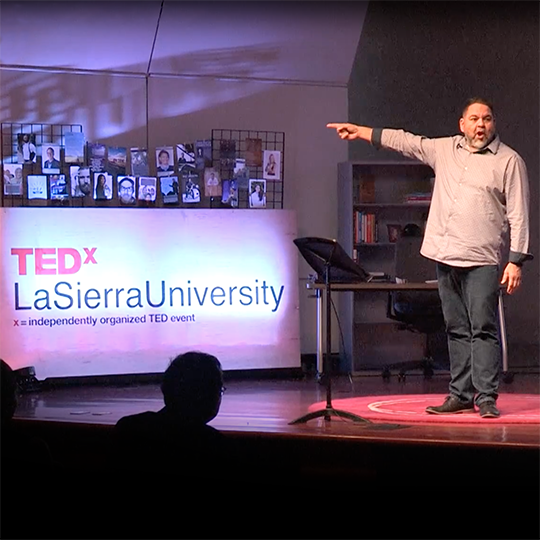 Ray Lozano - TEDx talk - LaSierra University 2017